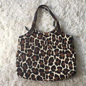 Michael Kors animal print purse